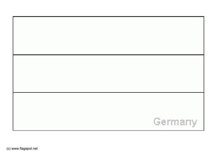 Ausmalbilder Deutschland