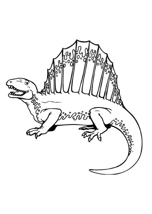 malvorlage dinosaurier  ausmalbild 9369