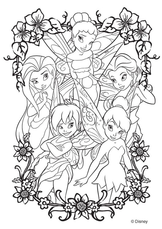 Malvorlage Disney Märchen Ausmalbild 20746