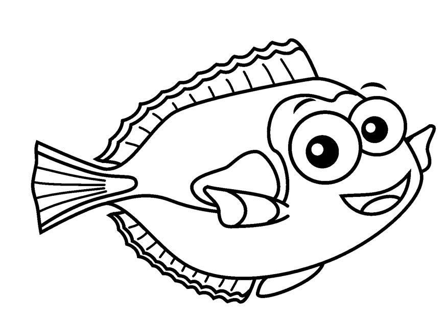 Malvorlage doktorfisch ausmalbild 23082 for Pesci immagini da colorare