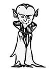 Malvorlage  Dracula