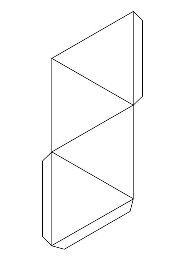 malvorlage dreieck pyramide ausmalbild 18722. Black Bedroom Furniture Sets. Home Design Ideas
