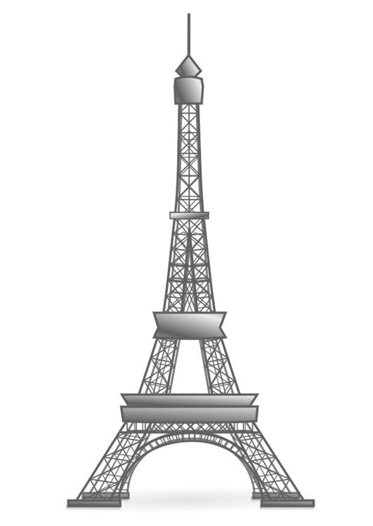 malvorlage eiffelturm frankreich ausmalbild 22458. Black Bedroom Furniture Sets. Home Design Ideas
