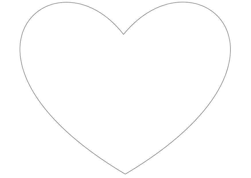 Ausgezeichnet Druckbare Herz Malvorlagen Galerie - Beispiel ...