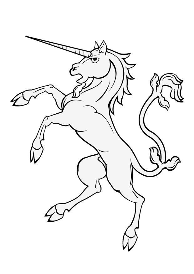 Paard Met Veulen Kleurplaat Malvorlage Einhorn Kostenlose Ausmalbilder Zum Ausdrucken