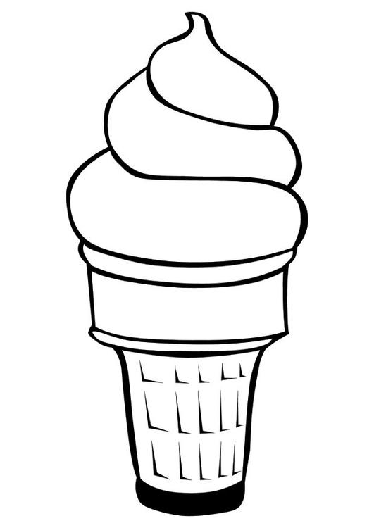 Malvorlage Eiscreme Ausmalbild 10116