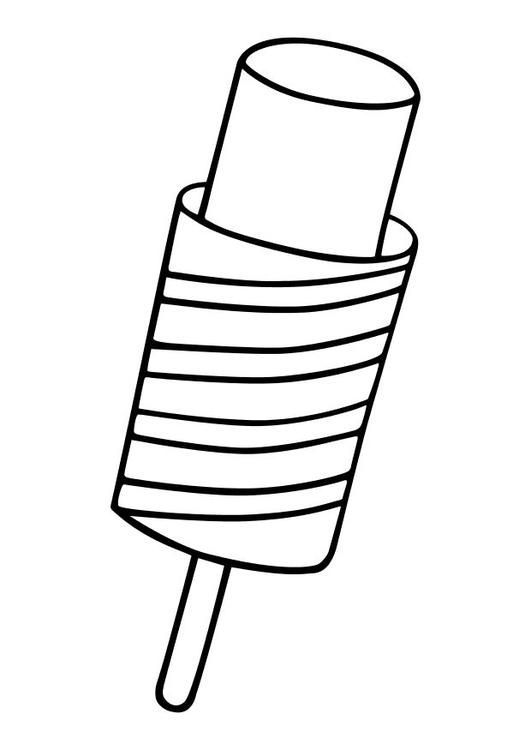 Malvorlage Eiscreme Ausmalbild 10235