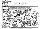 Malvorlage  Eisen Nahrung