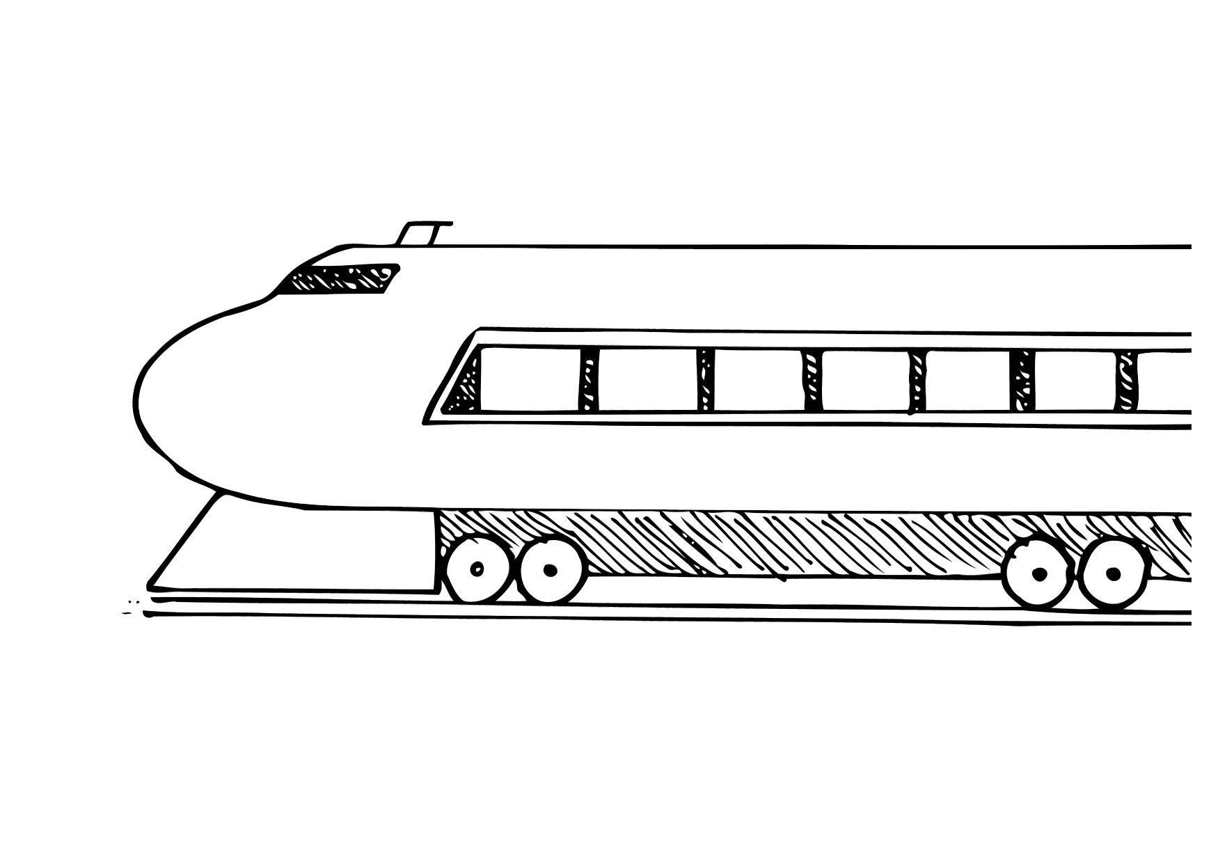 malvorlage eisenbahn  ausmalbild 12288