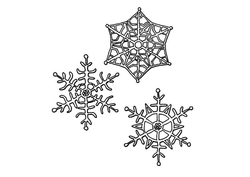 Kerst Kleurplaten Frozen Malvorlage Eiskristalle Kostenlose Ausmalbilder Zum