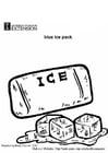 Malvorlage  Eiswürfel