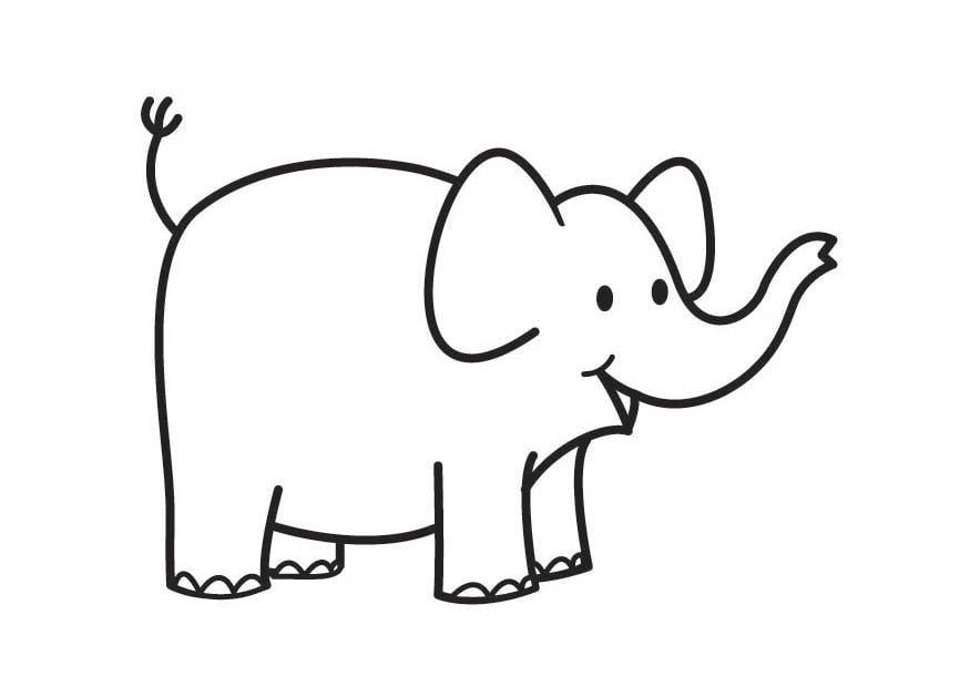 Fein Malvorlagen Elefanten Hart Bilder - Beispiel Wiederaufnahme ...