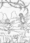 Malvorlage  Elfen