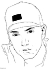 Malvorlage  Eminem