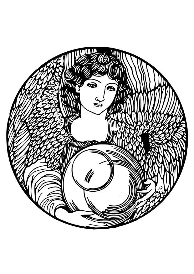 malvorlagen zum ausdrucken engel