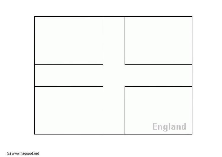 Malvorlage Flagge England Coloring And Malvorlagan