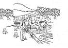 Malvorlage  Entwaldung