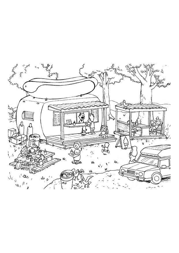 Ungewöhnlich Disney Camping Malvorlagen Galerie ...