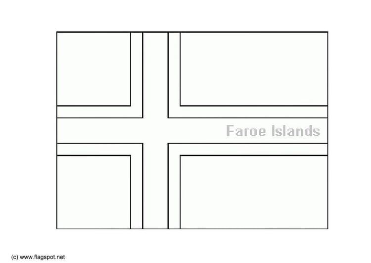 Malvorlage Färöer Inseln Ausmalbild 6145