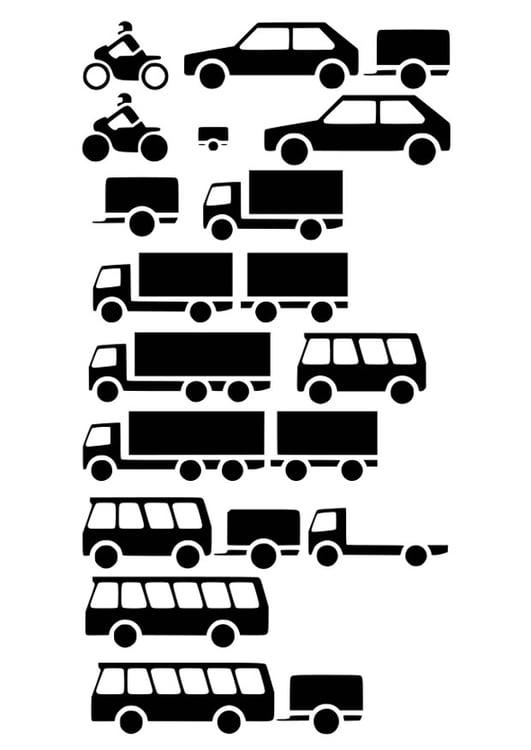 Malvorlage Fahrzeuge Ausmalbild 26209