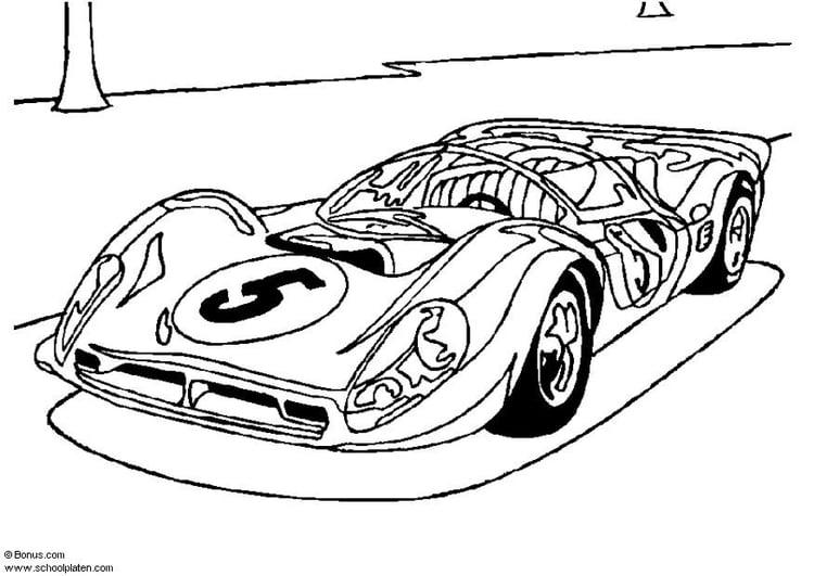 Malvorlage Ferrari P 4 Ausmalbild 5439 Images