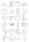 Malvorlage  Figuren für Kinder