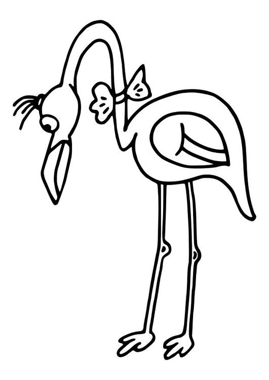 malvorlage flamingo ausmalbild 10461. Black Bedroom Furniture Sets. Home Design Ideas