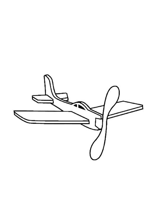 malvorlage flugzeug  kostenlose ausmalbilder zum
