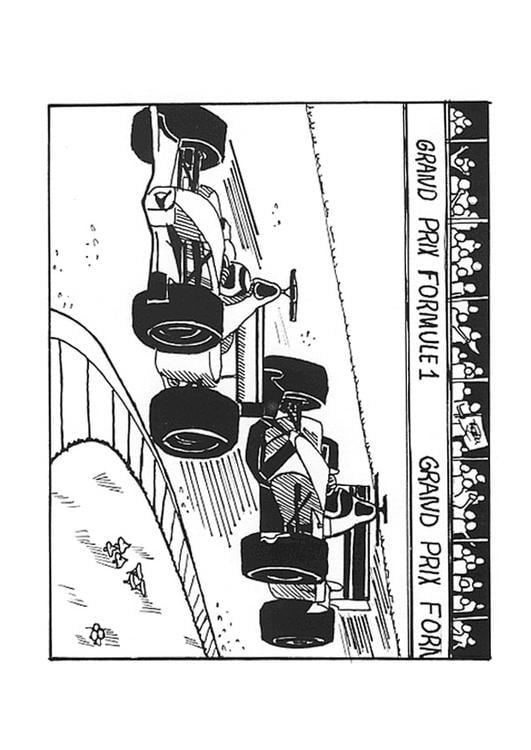 Kleurplaat Formule 1 Ferrari Malvorlage Formel 1 Ausmalbild 9543