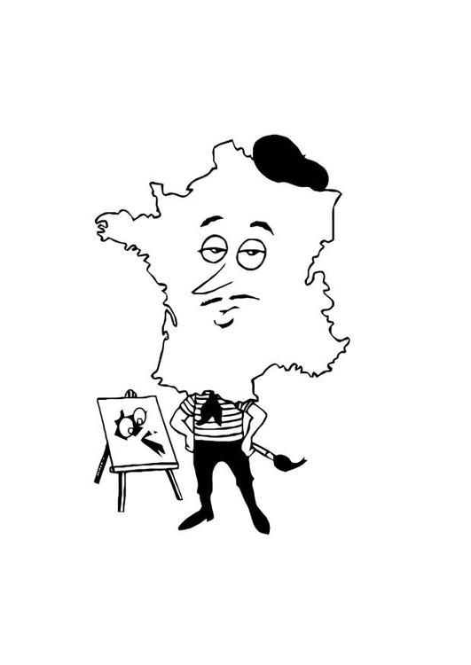 Tolle Französische Malvorlagen Ideen - Ideen färben - blsbooks.com