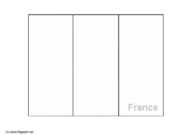 Malvorlage Frankreich | Ausmalbild 6147.