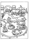 Malvorlage  Freizeitpark