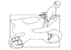 Malvorlage  Fuchsbau