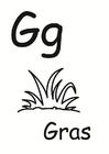 Malvorlage  g