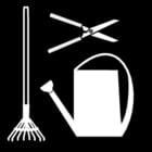 Malvorlage  Gartenarbeit