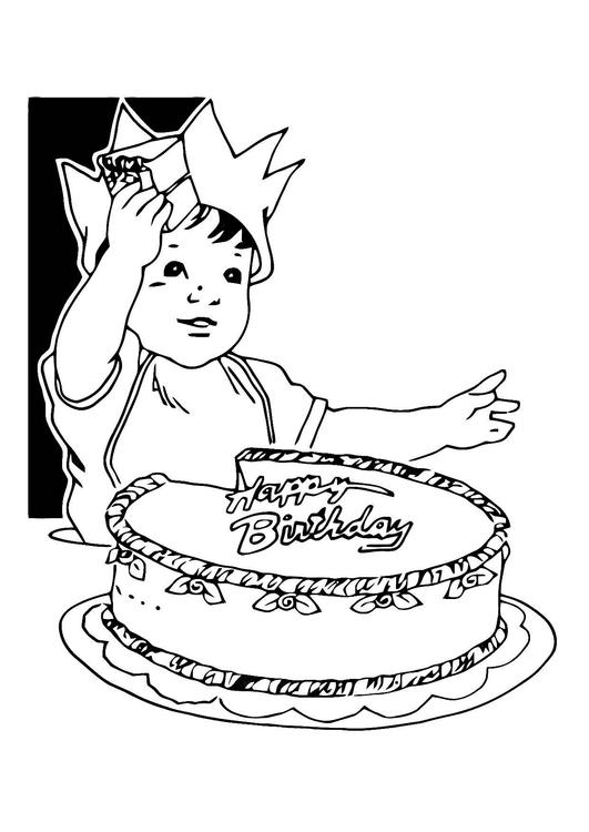 malvorlagen kostenlos geburtstag  kinder zeichnen und