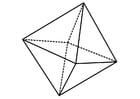 geometrische Figur - Oktaeder