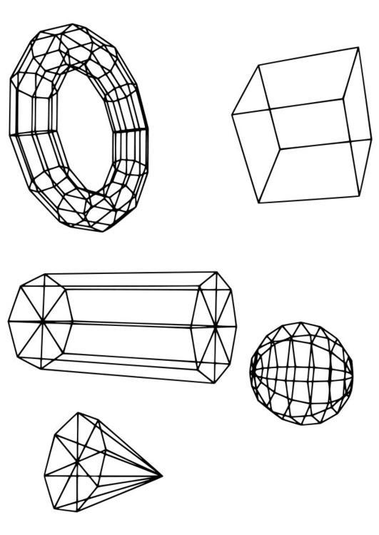 malvorlage geometrische figuren ausmalbild 18724. Black Bedroom Furniture Sets. Home Design Ideas
