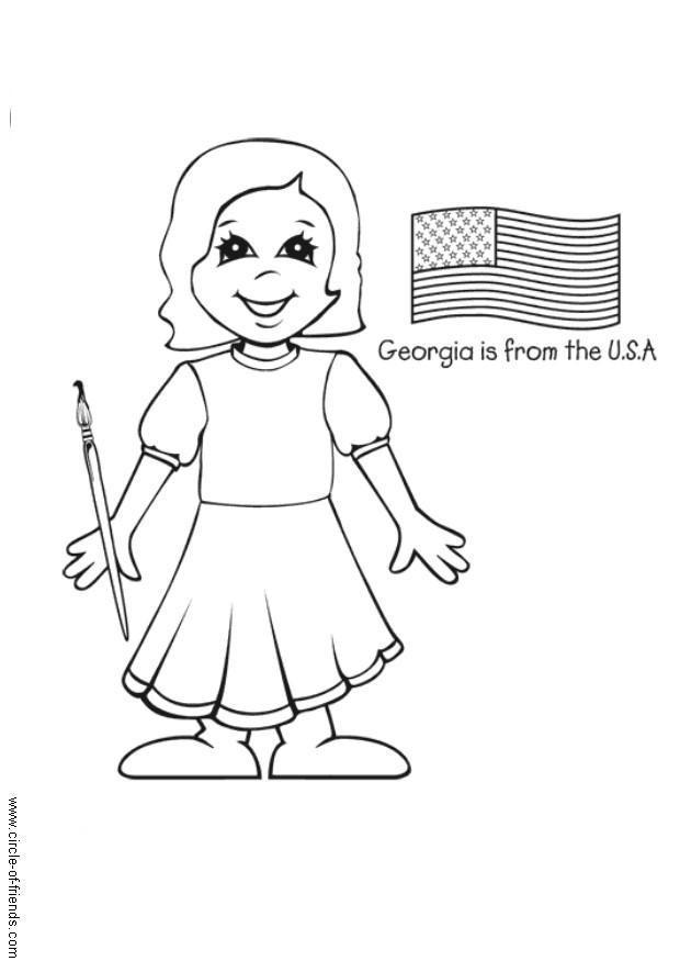 Ungewöhnlich Vereinigte Staaten Malvorlagen Fotos - Ideen färben ...