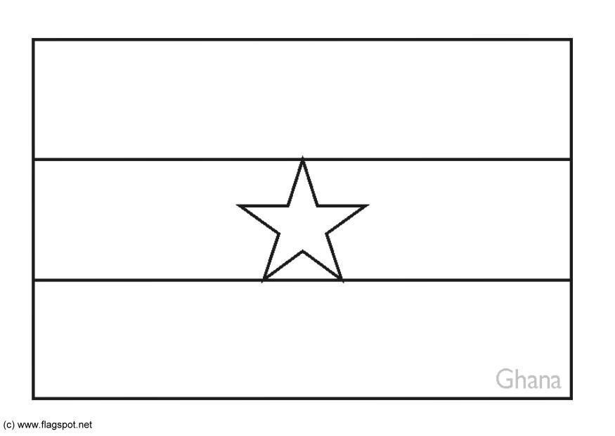 Fein Ghana Flagge Malvorlagen Ideen - Ideen färben - blsbooks.com