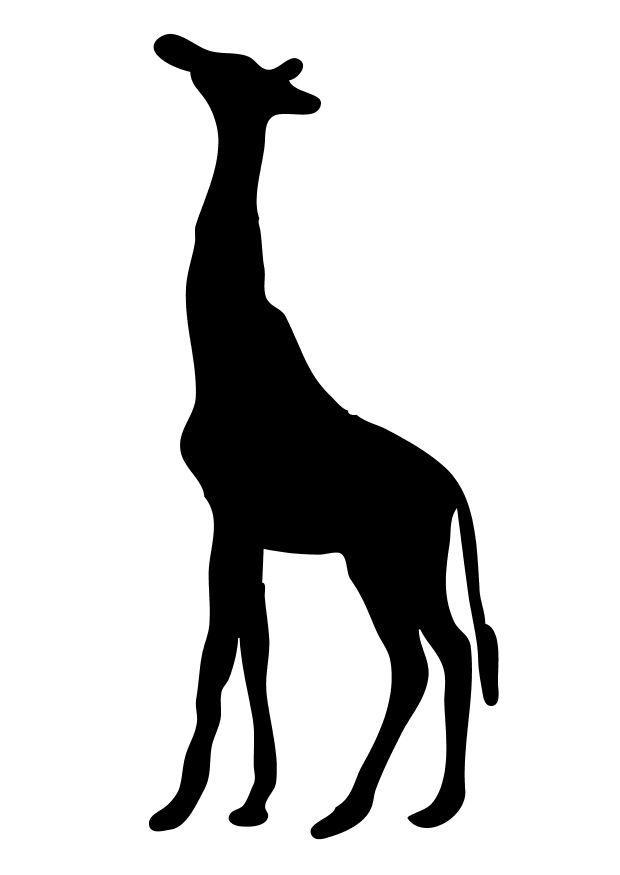 malvorlage giraffe  ausmalbild 10222