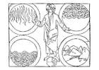 Gott und die 4 Elemente