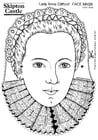 Malvorlage  Gräfin Anne Clifford