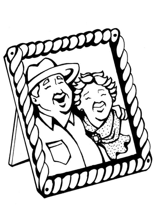 Beste Großeltern Tag Malvorlagen Zum Ausdrucken Bilder ...