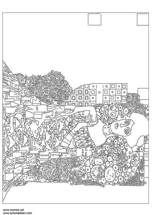 Manet Coloring Pages