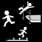Malvorlage  Gymnastik