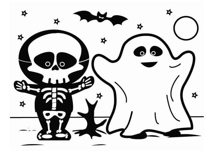 27 coole malvorlage skelett halloween  beste malvorlagen