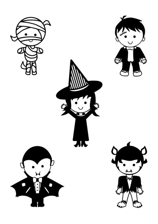 Malvorlage Halloween Kostenlose Ausmalbilder Zum Ausdrucken