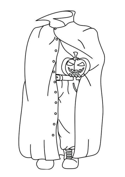 Malvorlage Halloween Geist Ausmalbild 16538
