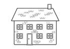 Malvorlage  Haus